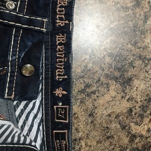 Rock Revival Denim Shorts size 27